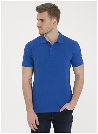 Pierre Cardin Pierre Cardin Erkek Mavi T-Shirt Mavi